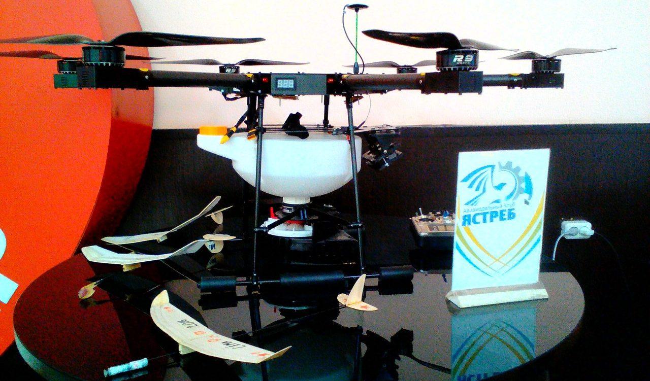 В Молодежном центре прошел первый в Краснодаре Фестиваль дронов
