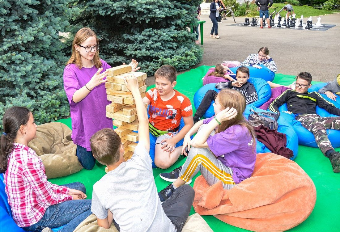 ПРОдвижение#2: как встречали спортивно-развлекательный проект в сквере Казачьей славы