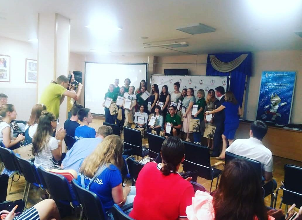 Браво Героям! Сегодня во Дворце спорта «Олимп» проходит торжественное награждение Городских волонтёров
