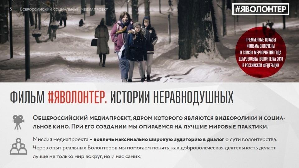 #ЯВОЛОНТЕР. Истории неравнодушных: Молодежный центр присоединится к Всероссийской акции