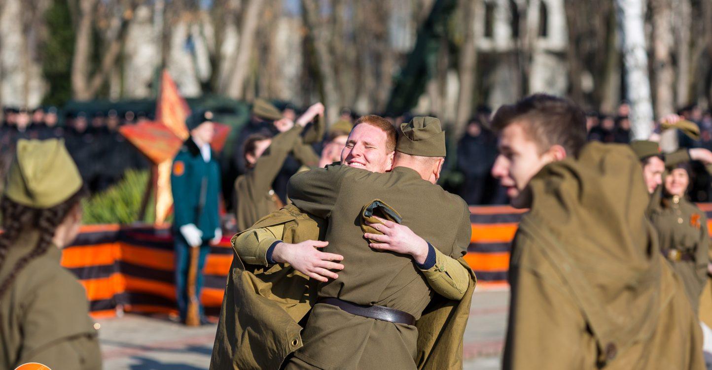 Открытие краевого военно-патриотического месячника